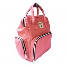 Сумка- рюкзак для мамы INSULAR Оранжевая (5000201)